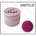 Купить Гель краска GELLAKTIK Gel Art 7 г без липкого слоя №20