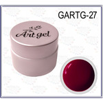 Купить Гель краска GELLAKTIK Gel Art 7 г без липкого слоя №27